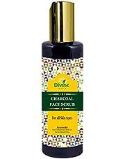Divine India Charcoal Face Scrub - 200 ml