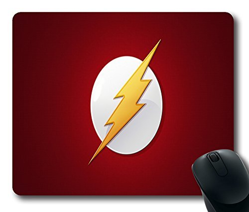Flash Dc Custom Rectangle Rubber Mouse Pad Oblong Gaming Mousepad in 220mm*180mm*3mm (9