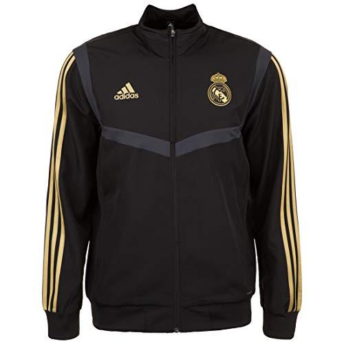 adidas Performance Real Madrid Präsentationsjacke Herren schwarz/Gold, M