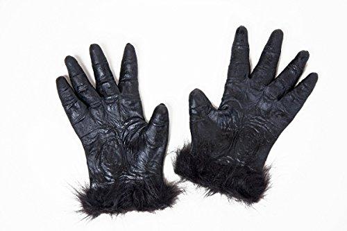 Kostüm Gorilla Hand - Festartikel Müller Kostüm Zubehör Gorilla Hände zum Affenkostüm Karneval Fasching