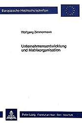 Unternehmensentwicklung und Matrixorganisation (Europäische Hochschulschriften / European University Studies / Publications Universitaires Européennes)