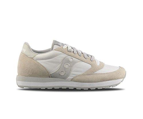 Saucony Sneakers Jazz ORIGINAL White - Grey, Herren, Taglia 6. -