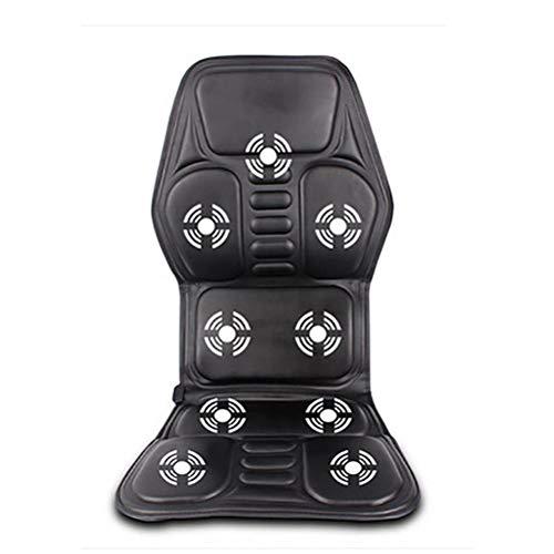 alvyu Universal Auto Sitzbezüge,Massagesitzauflage Rücken Massagegeräte mit Luftdruck Infrarotwärme Vibrationsmassage Tiefenmassage Rollmassage für Nacken gesamten Rückens Gesäß Oberschenkel