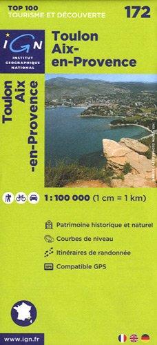 Top100172 Toulon/Aix-en-Provence 1/100.000