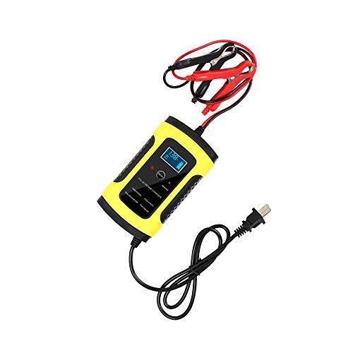 HKANG® Full Automatic Caricabatterie Automatic Carica, Mantiene La Carica E Ripristina Batterie Da Auto E Moto 110V to 220V To 12V 6A LCD Display