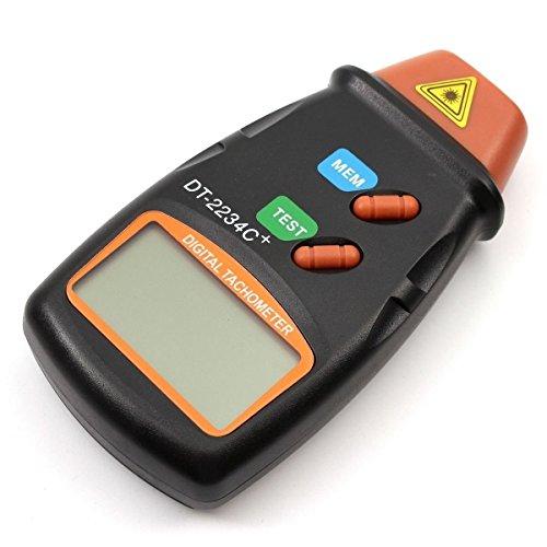 CITTATREND LCD Drehzahlmesser - Professioneller Digital Tachometer - RPM Test Kleinmotoren