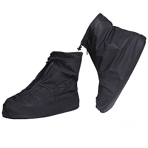 GESIMEI Impermeable Cubrecalzado PVC Cubiertas de botas de Lluvia al Aire Libre...