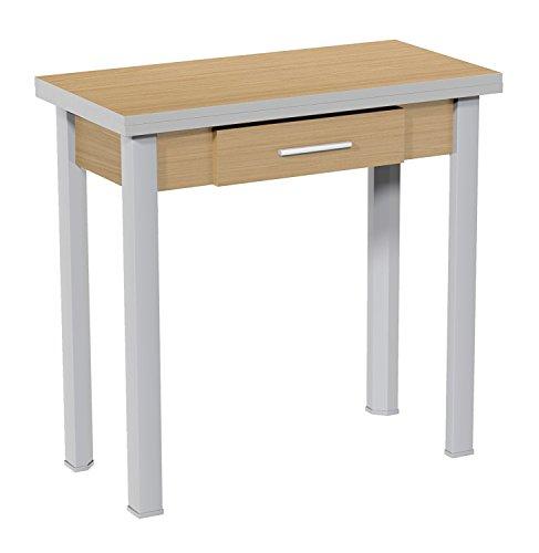 Mesa cocina color nogal