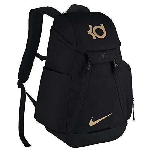 8f42776a4e30a5 KD Max Air Nike Elite Basketball Rucksack Einheitsgröße  schwarz schwarz Metallic Gold