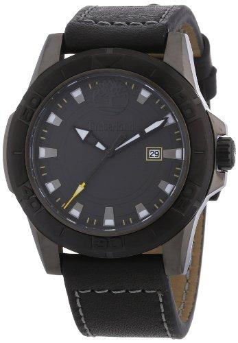 Timberland TBL.13855JSUB/61 - Reloj analógico para caballero de cuero gris