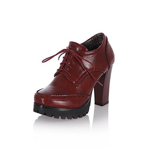 Vino Il Donna Classici Stivali Ragazza Uh Rosso 56wp0f