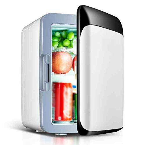 10L Kühlschrank Auto Kühlschrank elektrische Kühler, 12V / 220V Auto nach Hause Camping-Kühlschrank, schwarz und weiß -
