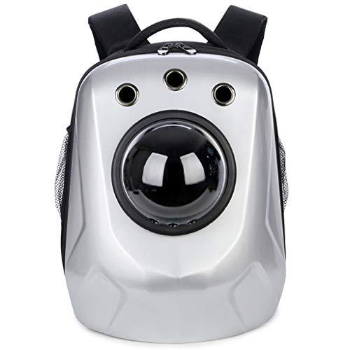 CDDJJ Rucksack für Haustierträger, transparenter Space Capsule Bubble-Rucksack für Katzen und Welpen, vom Luftfahrtunternehmen zugelassen, für Reisen, Wandern, Gehen und den Einsatz im Freien konzipie -