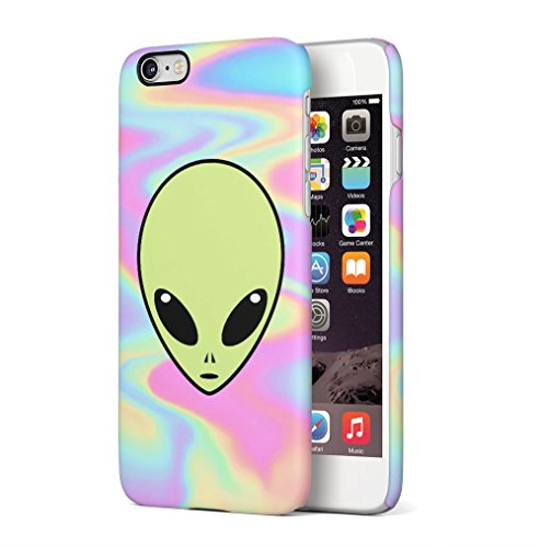 Soap Film (Alien Emoji Space Tye Dye Pastel Soap Film Trippy Tumblr Apple iPhone 6 / iPhone 6S SnapOn Hard Plastic Phone Protective Fall Handyhülle Case Cover)