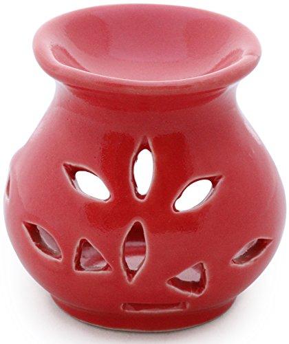artículo en venta - SouvNear Red Ceramic Oil Diffuser 9.1 cm /...