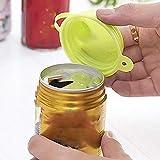 Behavetw 2PCS tappi di bottiglia riutilizzabile, atossico ecologico a tenuta può di tenuta, all' aperto campeggio drink dispositivo di chiusura, Random, Taglia libera