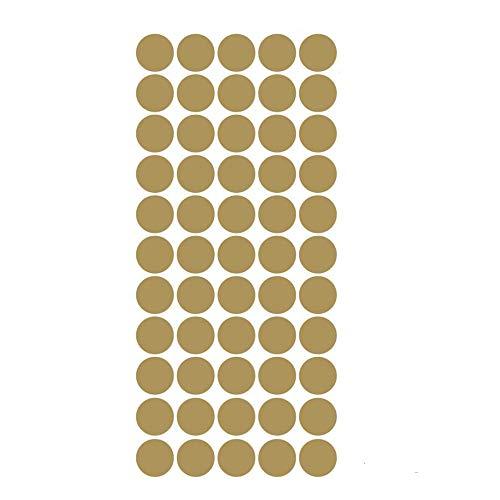 Dot Wandaufkleber Für Kinderzimmer Dekoration Metallic Gold Schwarz Rosa Polka Dots Wandkunst Aufkleber Kunst Wohnkultur Aufkleber Abnehmbare Dekoration Pcs Diy Wandkleber Familie ()