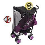 Bebé niño coche sombrilla protección UV universal bebé mosquitero paraguas toldo de carrito Cochecito de bebé protección solar protector solar