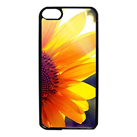 Ipod Touch 6th Generation Cell Phone Case Energetic Shining Flower Pattern HardCover Case for Ipod Touch 6th