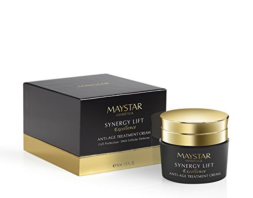 Maystar–Synergy Lift Excellence Anti-Age Aging Treatment Cream. Lifting Creme. Sofort Lifting und langlebig 50ml.