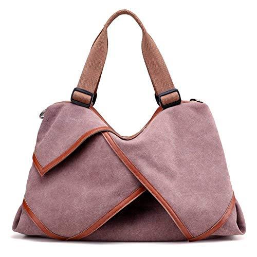 f6214dadf9fa M'SM Nueva Bolsa de Asas Casual de Lona de Las Mujeres de la Moda Bolsos de  Las Mujeres Bigs Travel Women Messenger Bags,Xiang yu zi