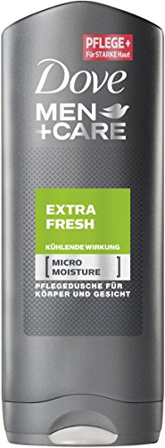 Dove Men+Care Duschgel Extra Fresh, 6er Pack (6 x 250 ml)