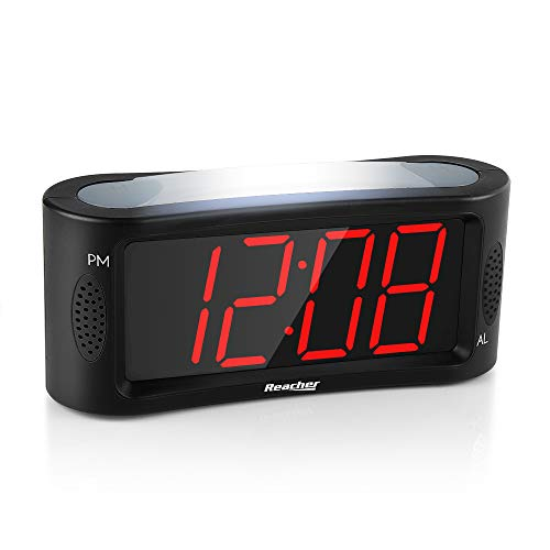 Despertador Digital, Reacher LED Reloj despertador