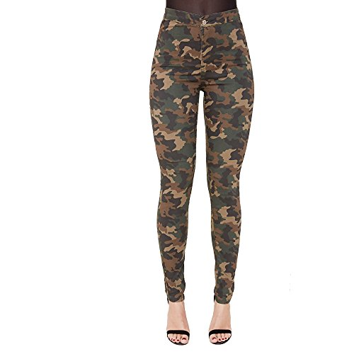 Camouflage skinny jeans damen