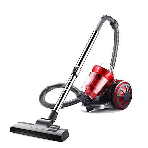 Or&dk aspirapolvere, bagless canister vacuum cleaner forte potere filtro hepa separazione di ciclone si ritrae pulsante-rosso