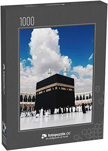 Puzzle 1000 Teile Mekka - Klassische Puzzle, 1000/200/2000 Teile, in Edler Motiv-Schachtel, Fotopuzzle-Kollektion 'Saudi Arabien'