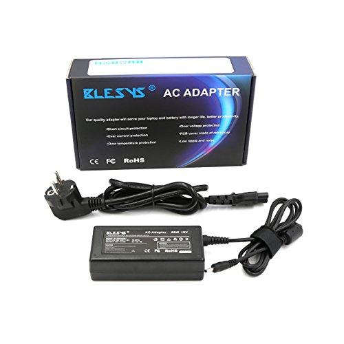BLESYS   19V 3.42A 65W Alimentation pour Acer Aspire V13 V3 331 V3 371 V3 372 V3 372T Compatible chargeur de portable avec 2.37A AC Adapter Adaptateur Chargeur (Connecteur: 3.0mm * 1.1mm)