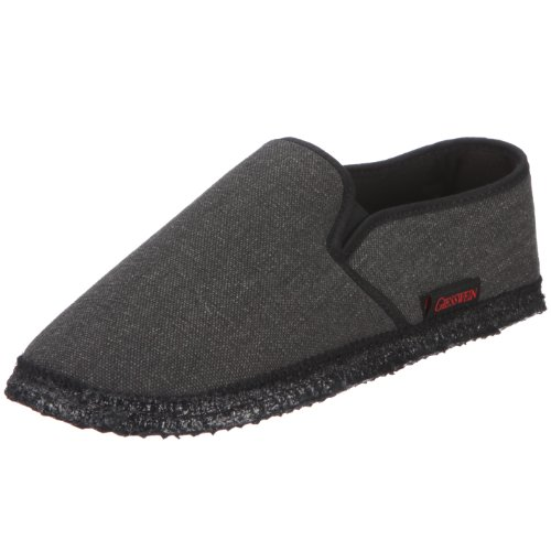 Giesswein Berlin, Chaussons homme Gris (019 Anthrazit)