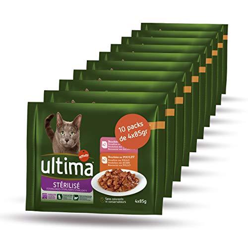 Ultima Cibo Umido per Gatti Sterilizzati - 3.4 kg
