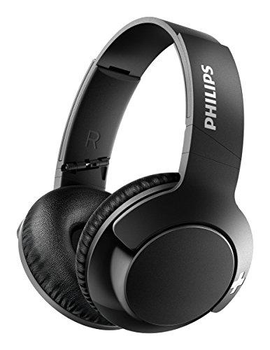 Philips SHB3175BK BASS+ Over-Ear Bluetooth-Kopfhörer (13 Stunden Akku, satter Bass, Freisprechfunktion) schwarz Philips Extra Bass