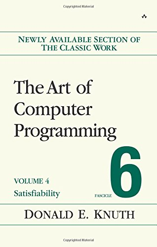 The Art of Computer Programming, Volume 4B, Fascicle 6 : Satisfiability
