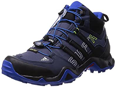 Adidas Terrex Swift R Mid Gtx Walking Shoes 7 Black Amazon Co Uk