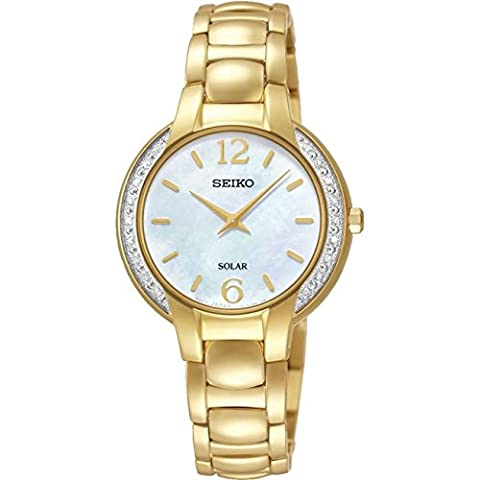 Ladies Seiko Solar Powered Watch SUP258P9