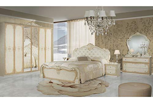 LIGNEMEUBLE Tatum Laca Marfil Dormitorio Barroco: