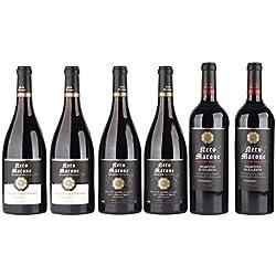 Coffret dégustation - Nero Marone - Découvrte vin d'Italie - 6 x 75 cl