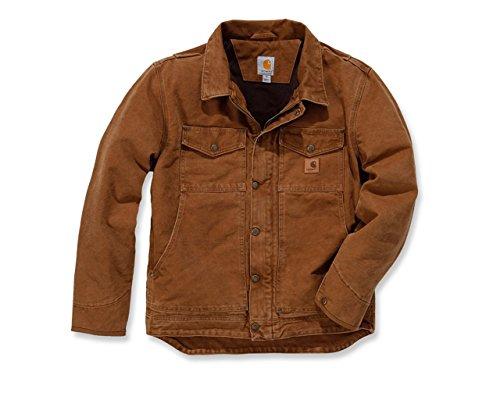 Berwick Jacket Carhartt Brown Sandstone Größe M Winterjacke braun 101230 Herren