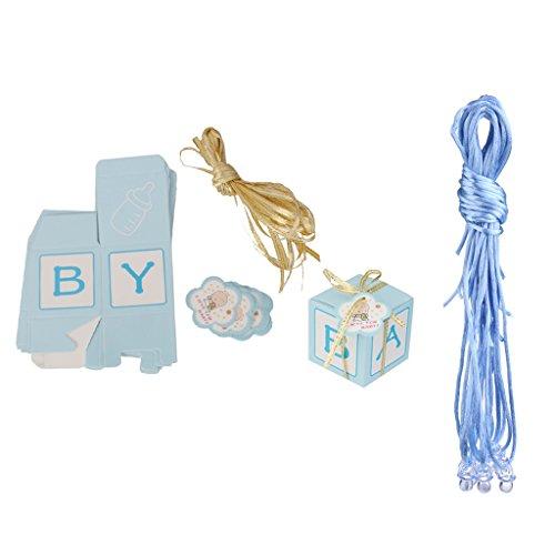 Schnuller Halsketten Anhänger + Geschenkschachtel Geschenke für Babyparty Babyshower (Baby-dusche-spiel Candy)