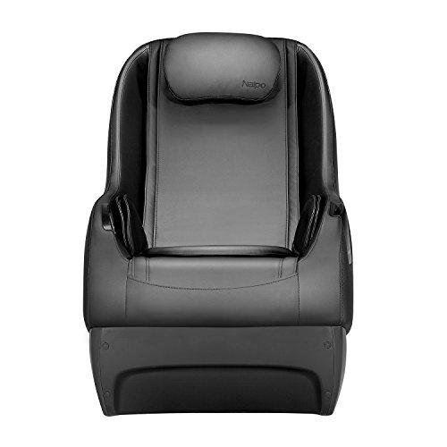 Naipo Shiatsu Massage Stuhl Massagesessel Ganzkörpermassagegerät mit SL Track, 3D Surround Sound Musik - 2