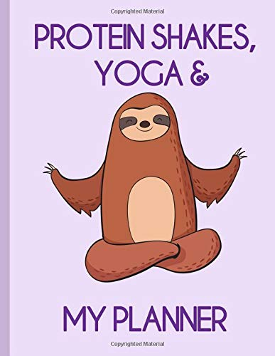 Protein Shakes, Yoga & My Planner: The Sports Family Weekly Planner por Miles Apart Creations