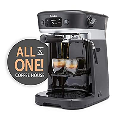 Breville VCF117 All-in-One Coffee House, Espresso, Filter and Capsule Coffee Machine from Breville