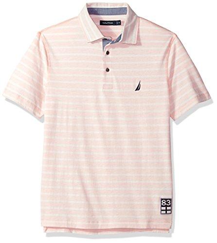 Nautica Herren Poloshirt Rosa (Coral Sands)