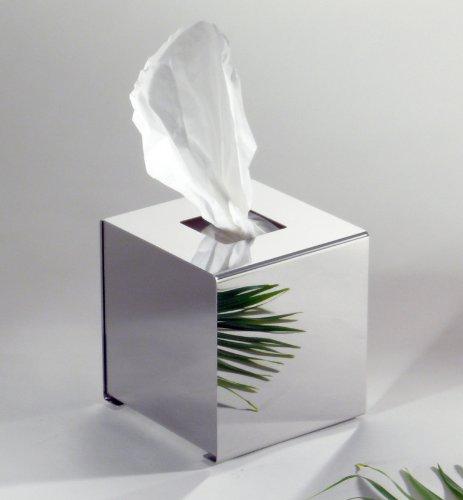 Tissue-Box, Papiertuchbox, Würfelbox, Kleenex-Box, Super Qualität, Hochglanzpoliert, Made in Germany