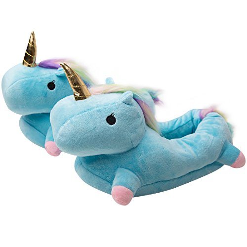 Luckly Cloud-UK Einhorn Hausschuhe