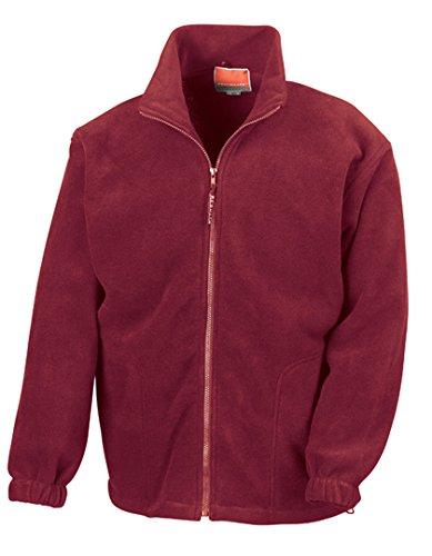 Result Polartherm Jacke XXL burgunderfarben