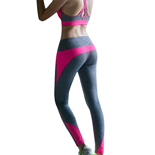 Femmes flexibles YOGA Sport Gym Pantalons Collants Leggings Courir Fitness pantalon