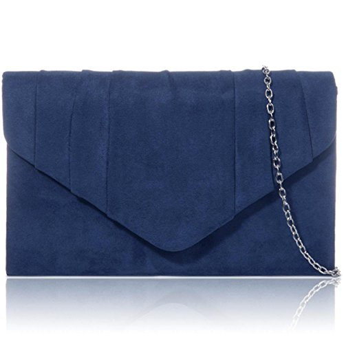 xardi-london-navy-new-faux-suede-leather-women-clutch-bridesmaid-envelope-ladies-evening-prom-bags